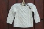 The Wee Heritage Aran Sweater