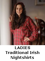 Ladies Traditional Irish Flannel Nightshirts