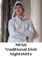 Mens Traditional Irish Flannel Nightshirts