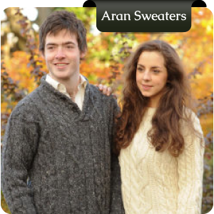 Irish Aran Sweaters from Murphy of Ireland Donegal