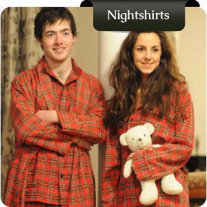 Traditional Irish Nightshirts from Murphy of Ireland