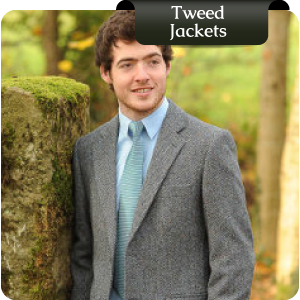Irish Tweed Jackets delivered in just 9 days