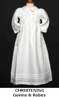 Irish Christening and Baptism Gowns and Robes