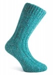 Donegal Tweed Sock Turquoise