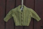 Little Legacy Cardigan - Celtic Green